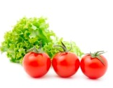 Разгрузочный день на томатах и листьях салата